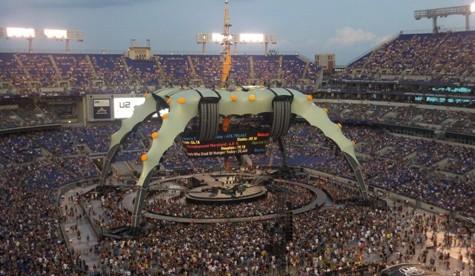 U2 Rocks the Ravens' Nest