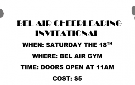 BAHS to Host First Cheer Invitational