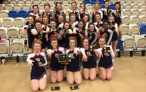 BAHS Cheerleaders Sink Their Claws in States