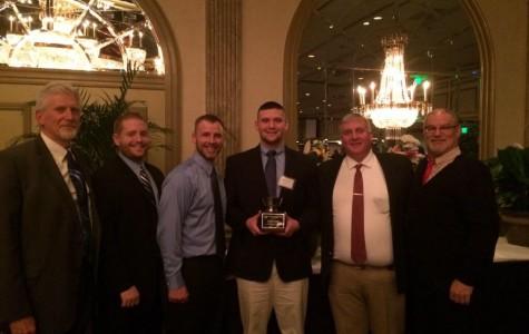 Andrew Visconti Awarded National Football Foundation Scholarship