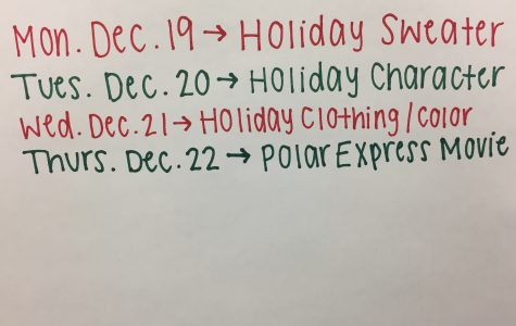 Holiday Spirit Week is Here!