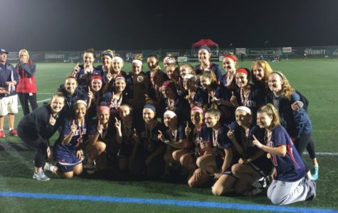 Girls' Lacrosse Wins States