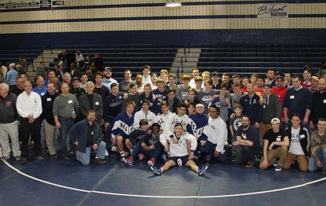 Bel Air Wrestling Celebrates Alumni Night