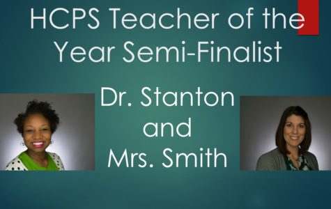 HCPS Teacher of the Year Semi-Finalists
