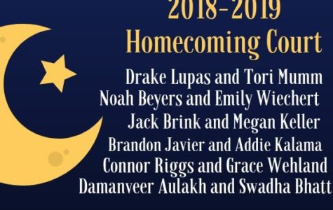 2018-2019 Homecoming Court Announced